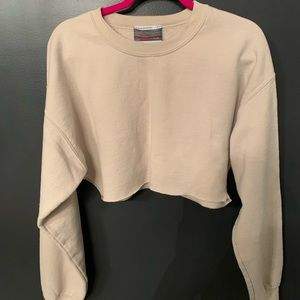 Urban Outfitters Sweaters - Cropped sweatshirt